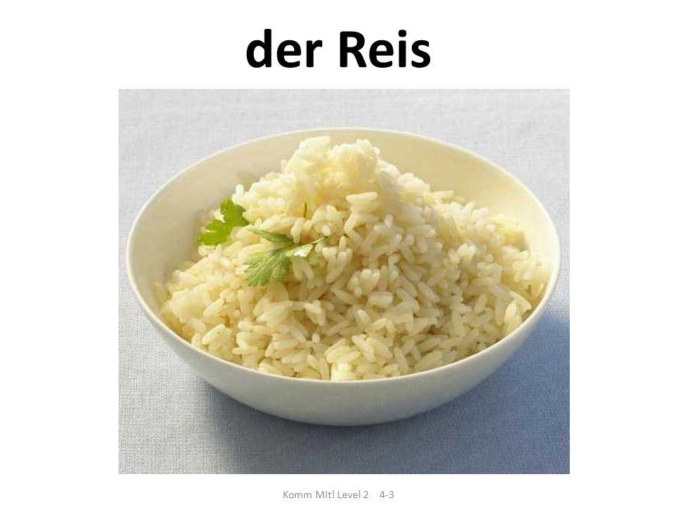 Komm Mit! Level 2 4-3 der Reis