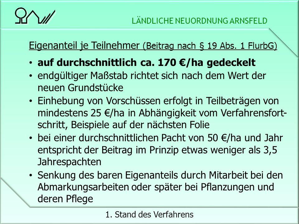 LÄNDLICHE NEUORDNUNG ARNSFELD 1.