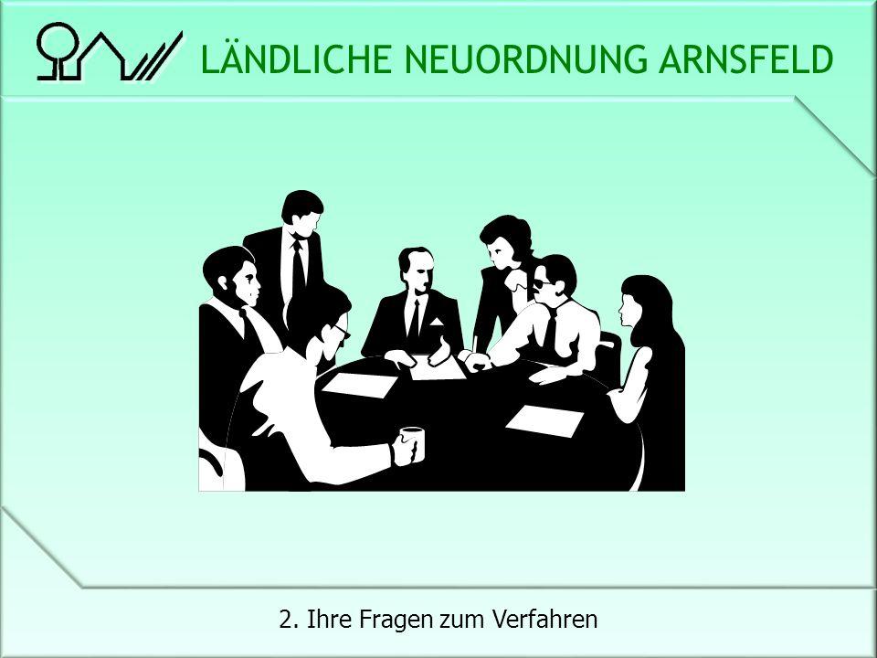 LÄNDLICHE NEUORDNUNG ARNSFELD 2. Ihre Fragen zum Verfahren