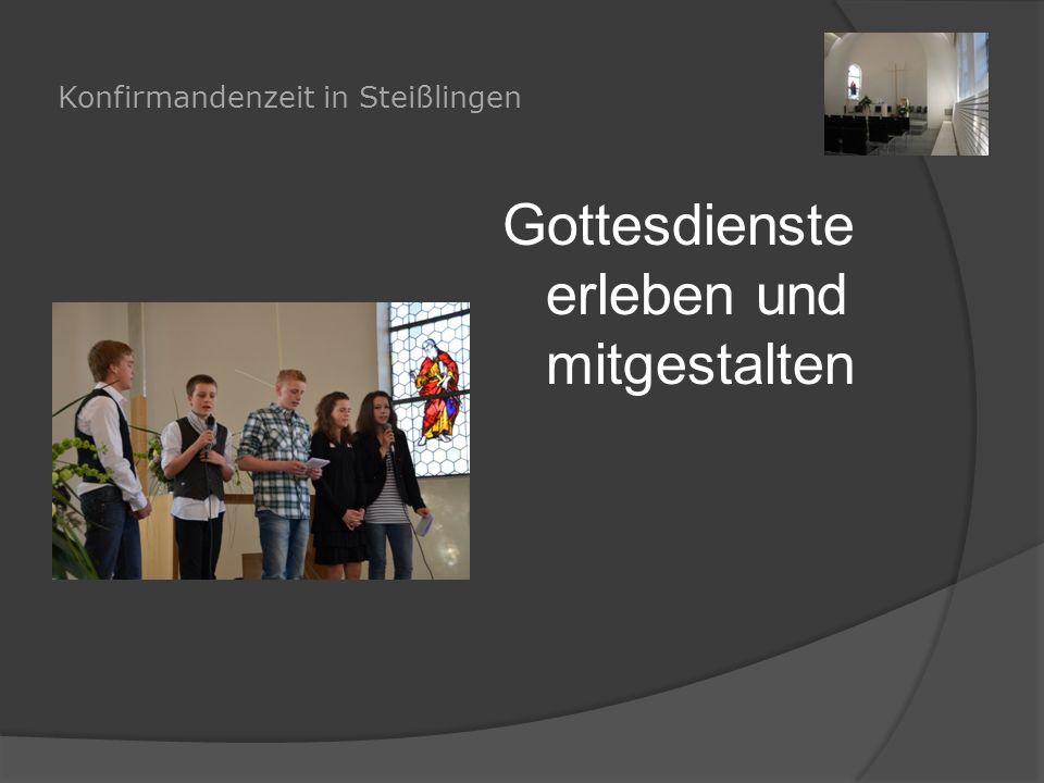 """Konfirmandenzeit in Steißlingen Über """"Gott und die Welt nachdenken"""