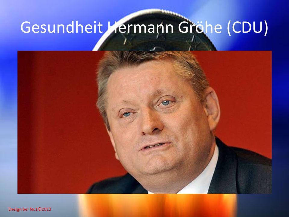 Design bei Nr.1©2013 Gesundheit Hermann Gröhe (CDU)