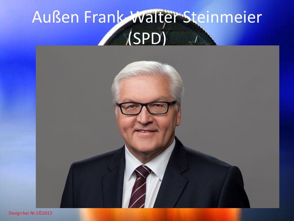 Design bei Nr.1©2013 Außen Frank-Walter Steinmeier (SPD)