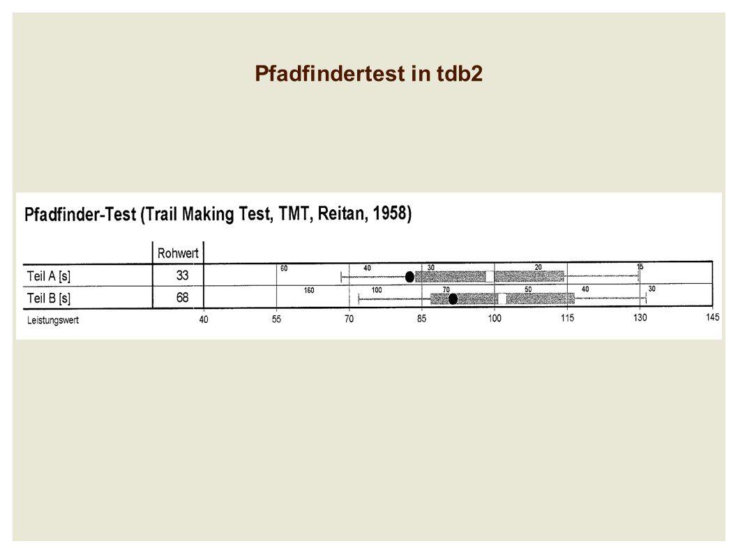 Pfadfindertest in tdb2