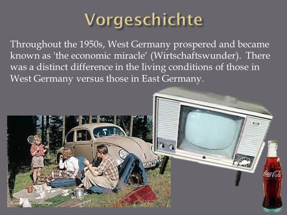 East Germans became dissatisfied.