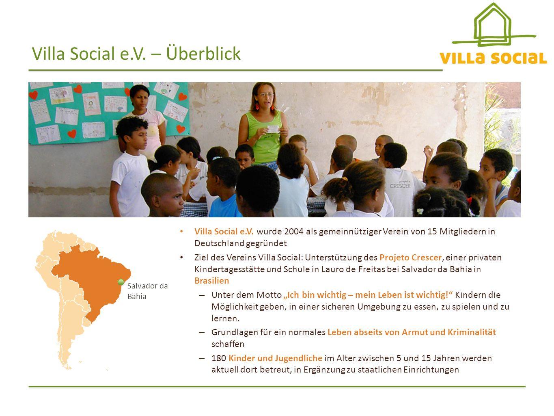 Villa Social e.V. – Überblick Villa Social e.V.