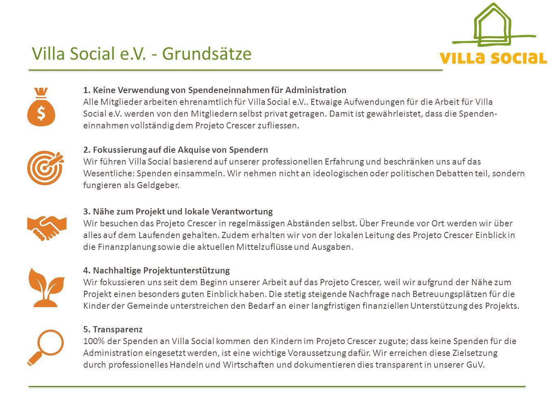Villa Social e.V. - Grundsätze 1.