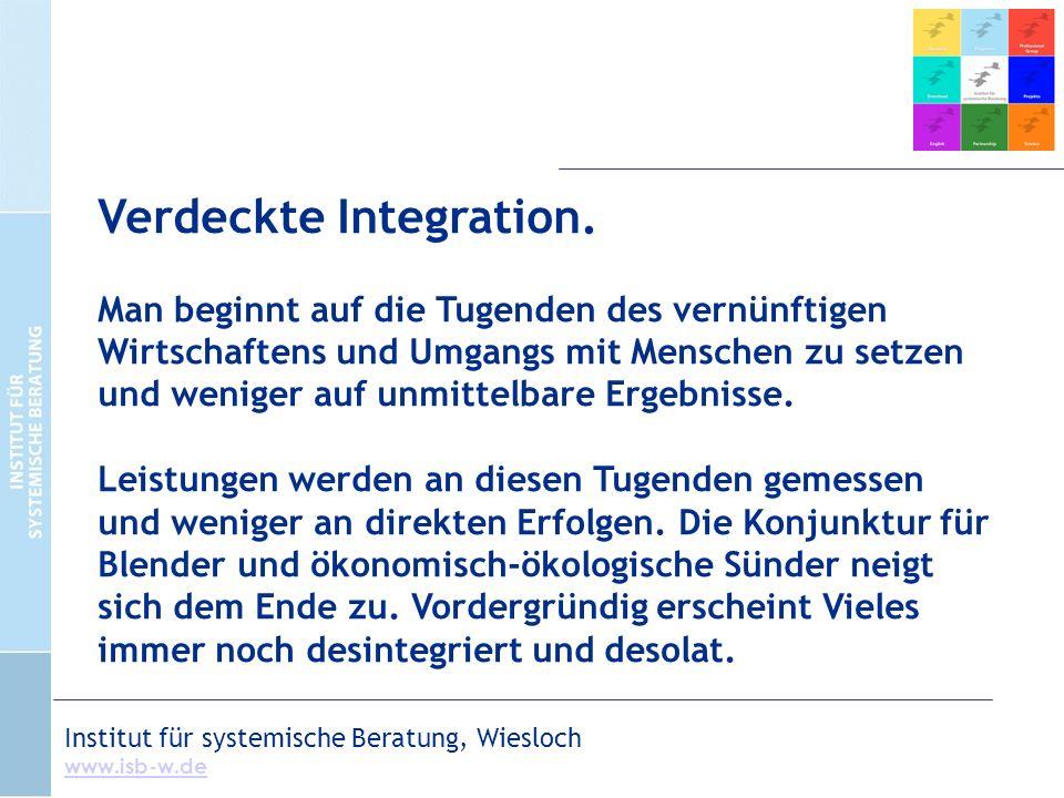 Verdeckte Integration.