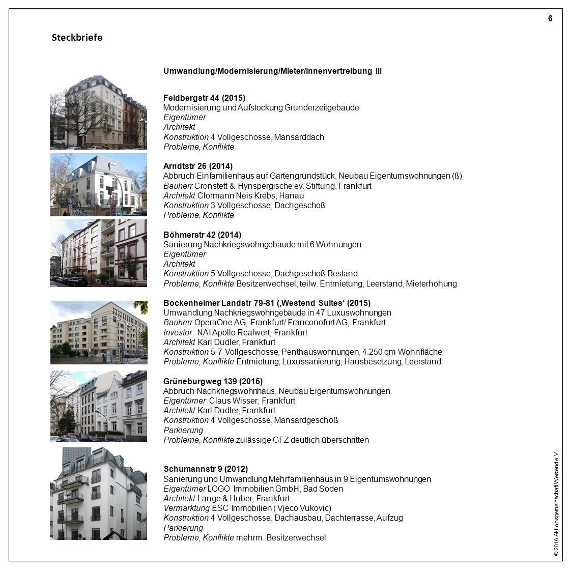 © 2016 Aktionsgemeinschaft Westend e.V.