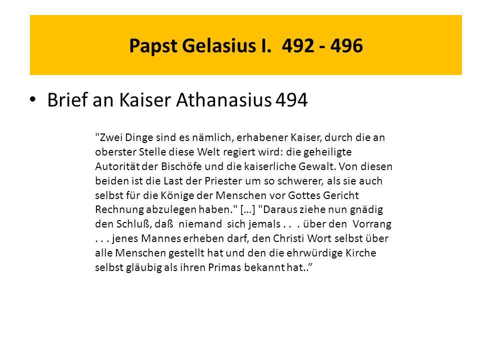 Papst Gelasius I.