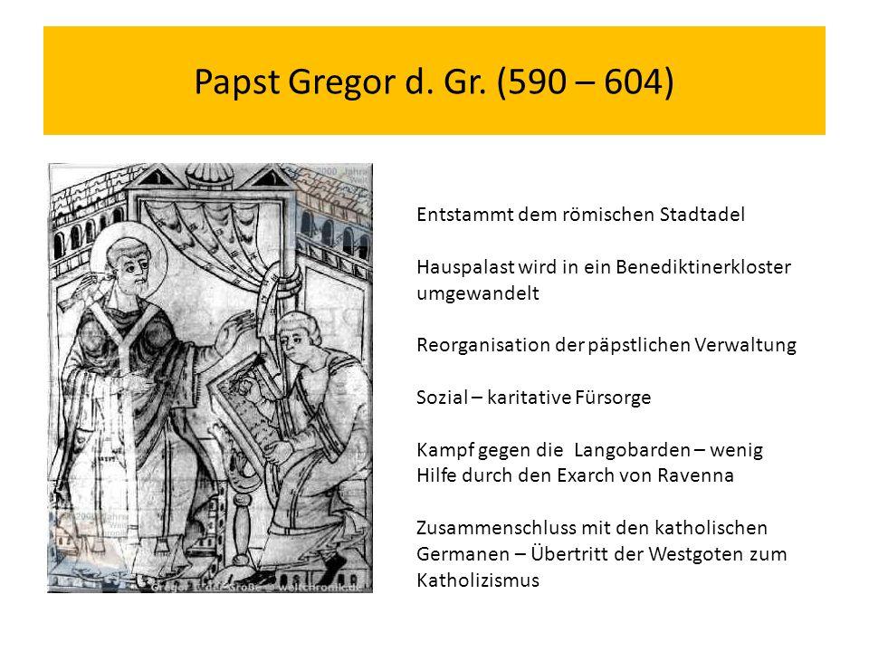 Papst Gregor d. Gr.