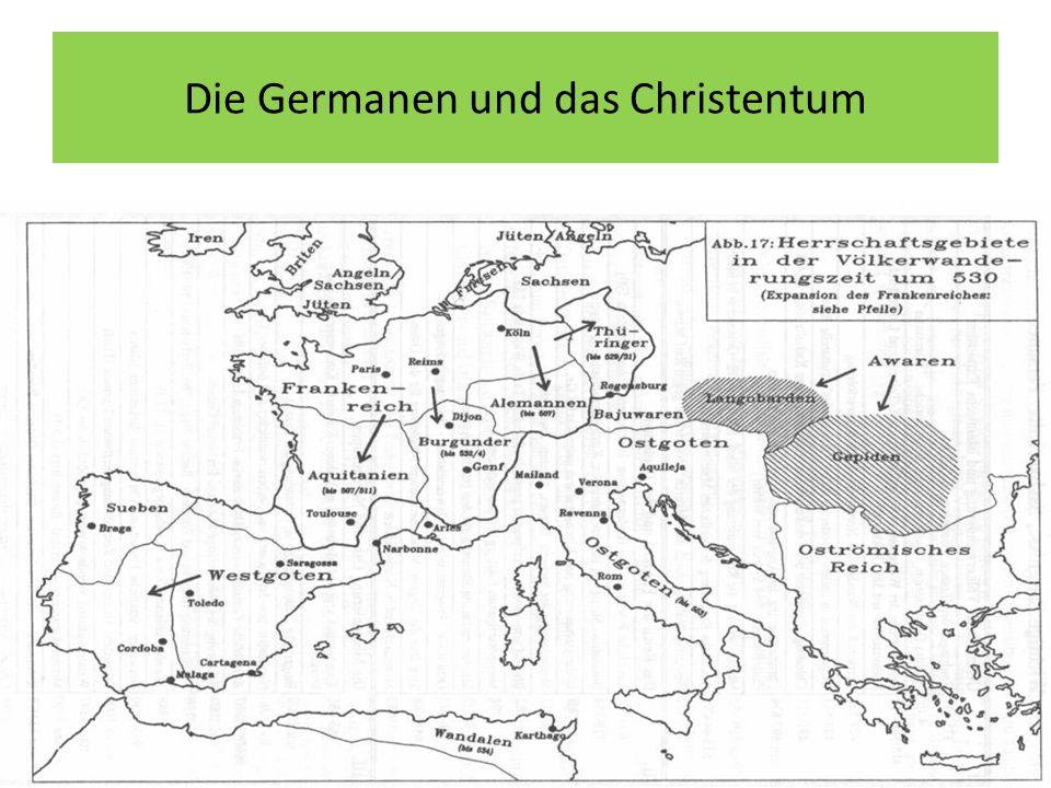 Die Germanen und das Christentum