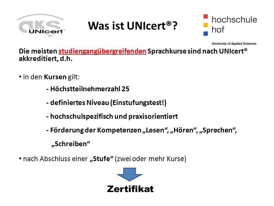 Was ist UNIcert®.