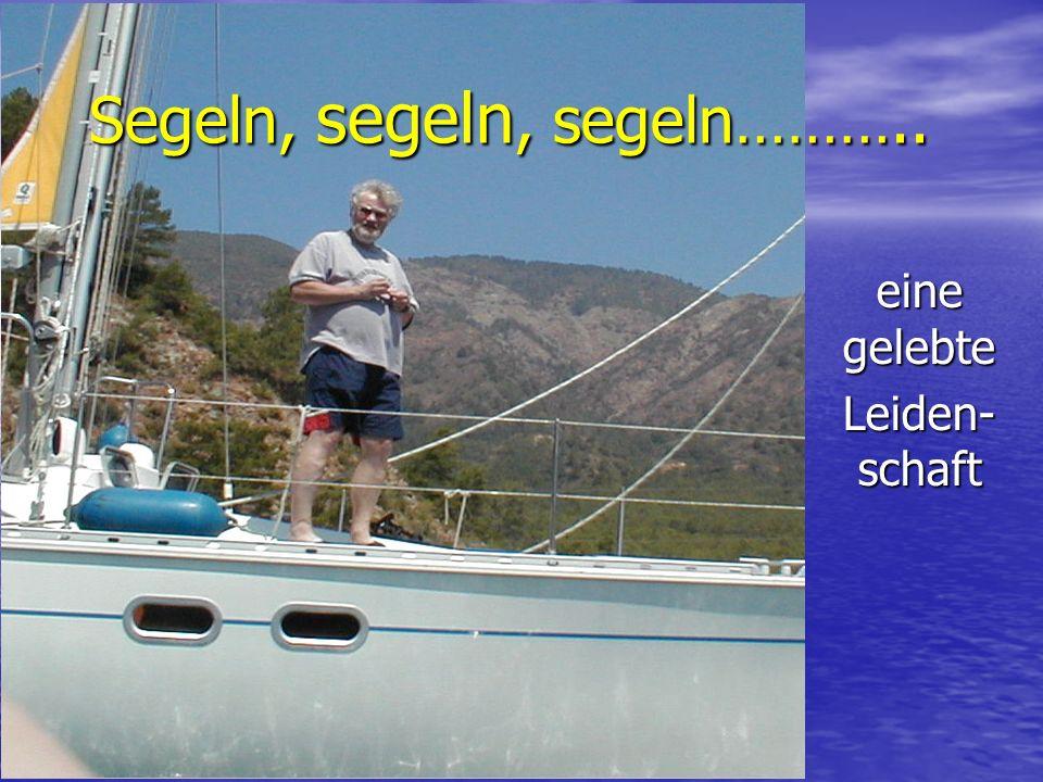 Segeln, segeln, segeln……….. eine gelebte Leiden- schaft