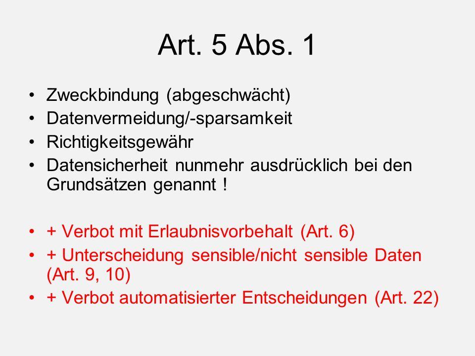 Art. 5 Abs.