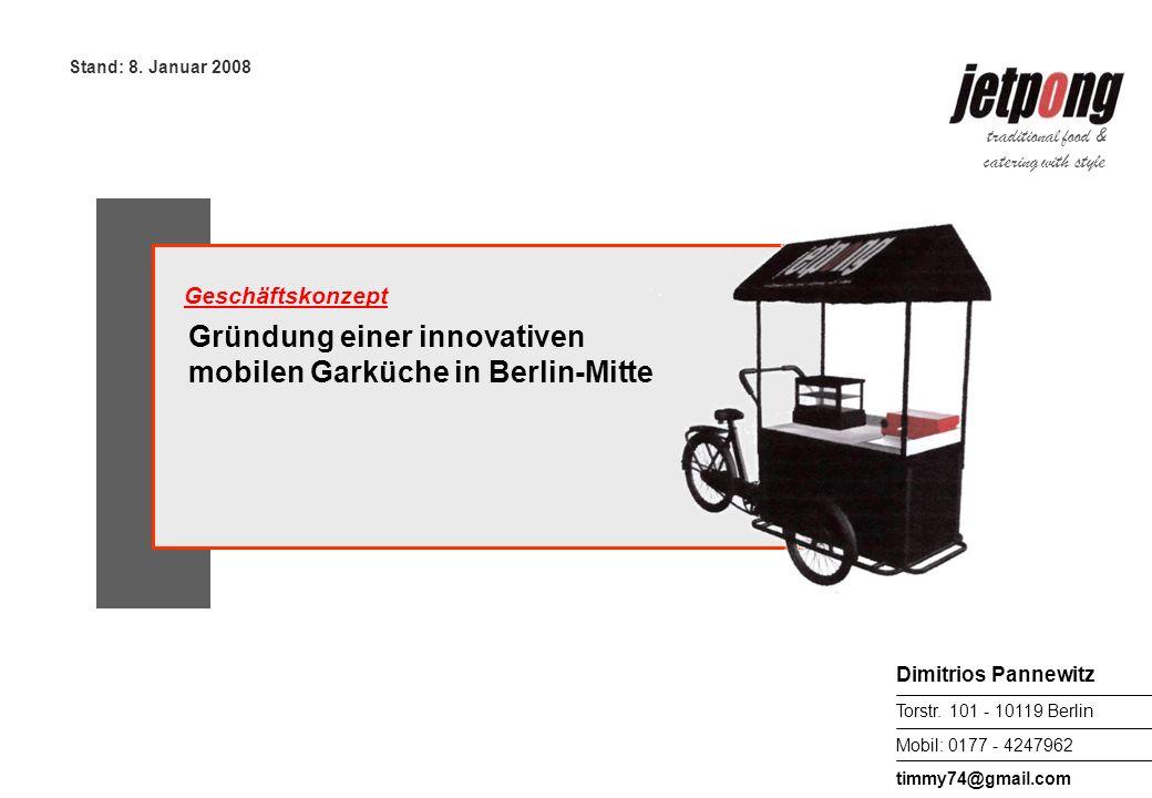 Mobil: 0177 - 4247962 Dimitrios Pannewitz Torstr.