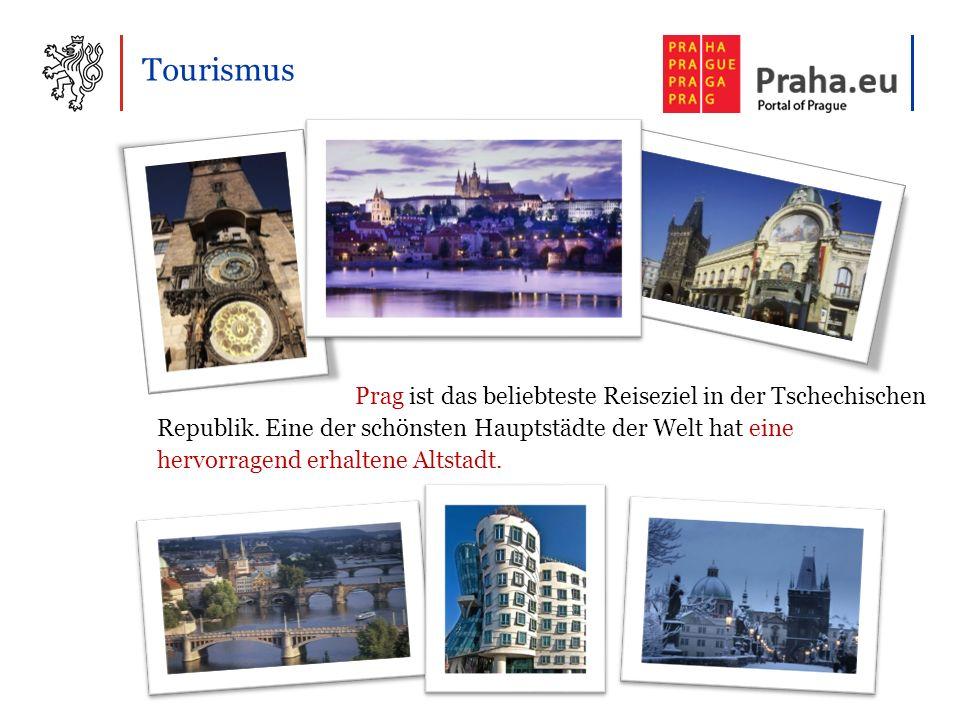 Tourismus Prag ist das beliebteste Reiseziel in der Tschechischen Republik.