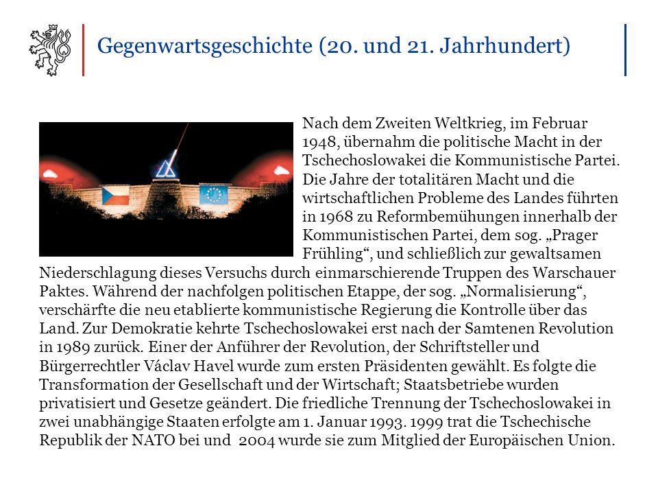 Gegenwartsgeschichte (20. und 21.