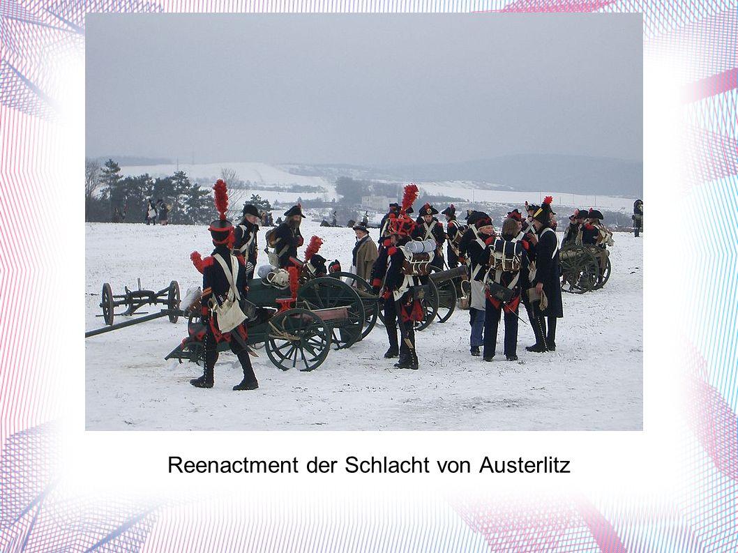 Reenactment der Schlacht von Austerlitz