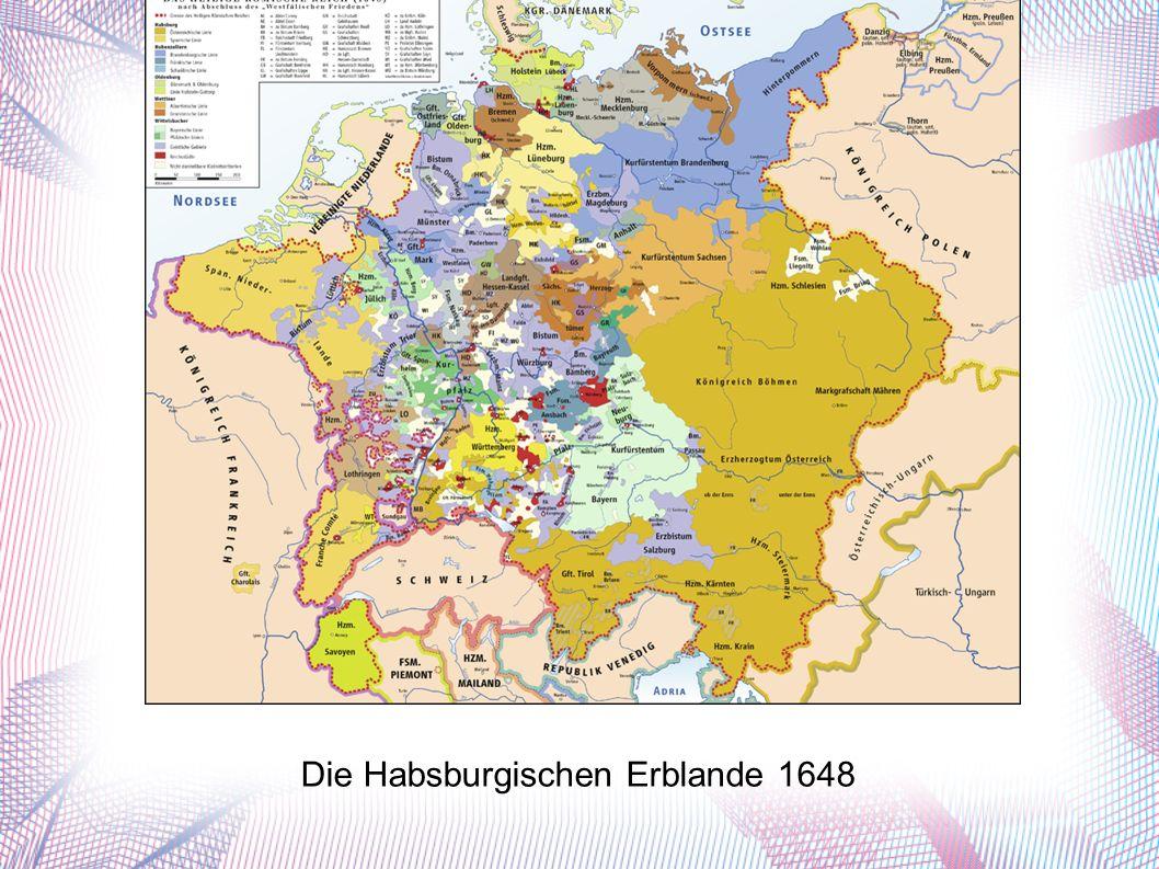 Die Habsburgischen Erblande 1648