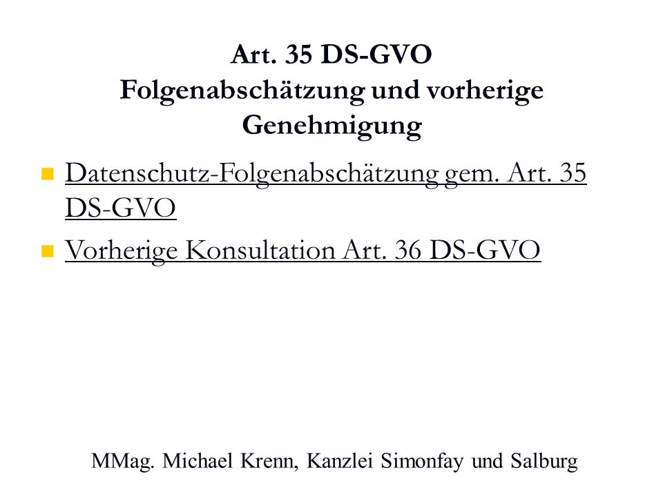 MMag. Michael Krenn, Kanzlei Simonfay und Salburg Art.
