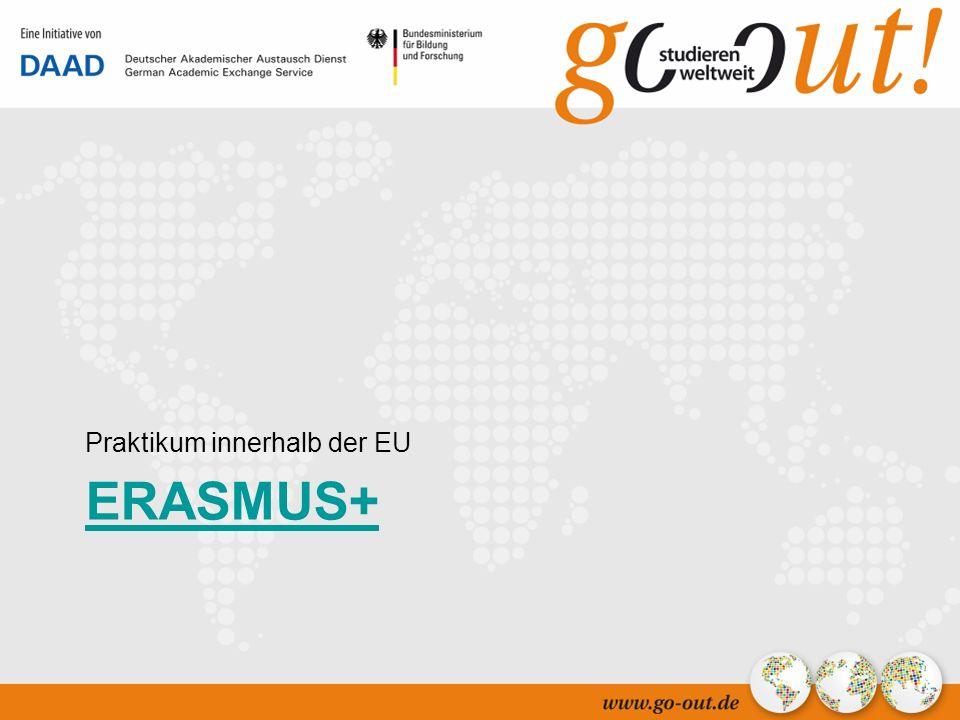 04/2006 31 ERASMUS+ Praktikum innerhalb der EU