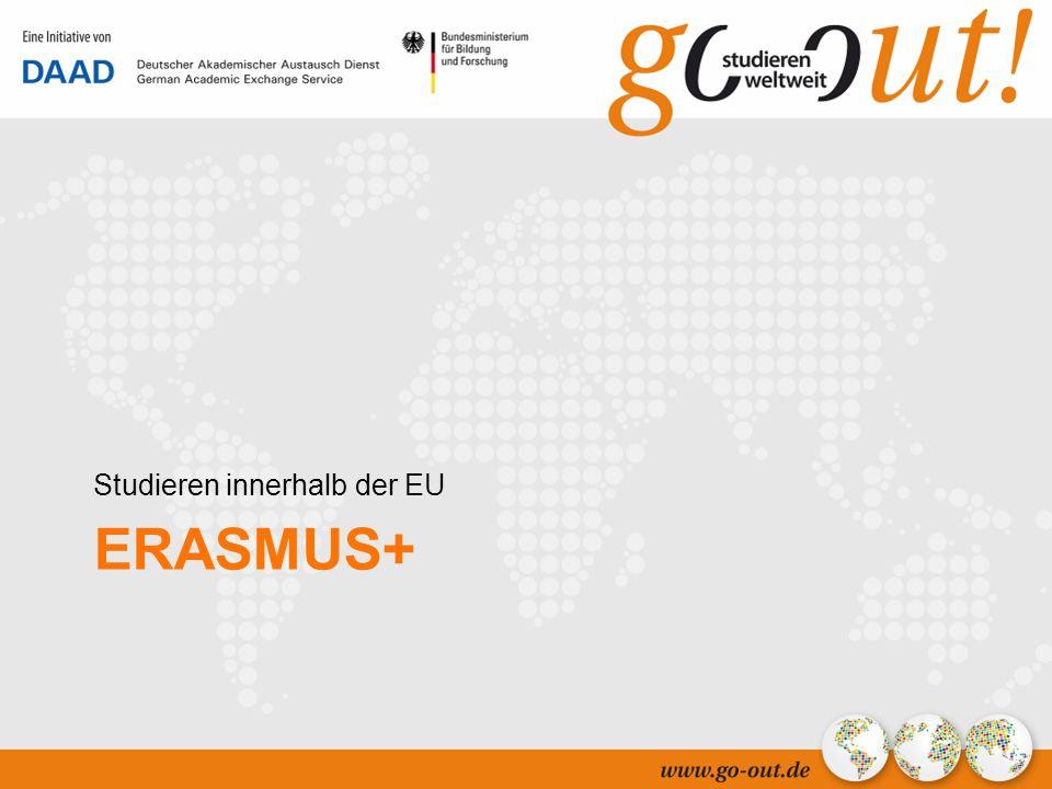 5 ERASMUS+ Studieren innerhalb der EU