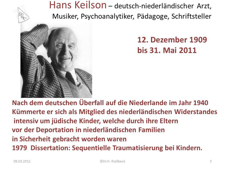 Hans Keilson – deutsch-niederländischer Arzt, Musiker, Psychoanalytiker, Pädagoge, Schriftsteller 09.03.2012©Dr.H.