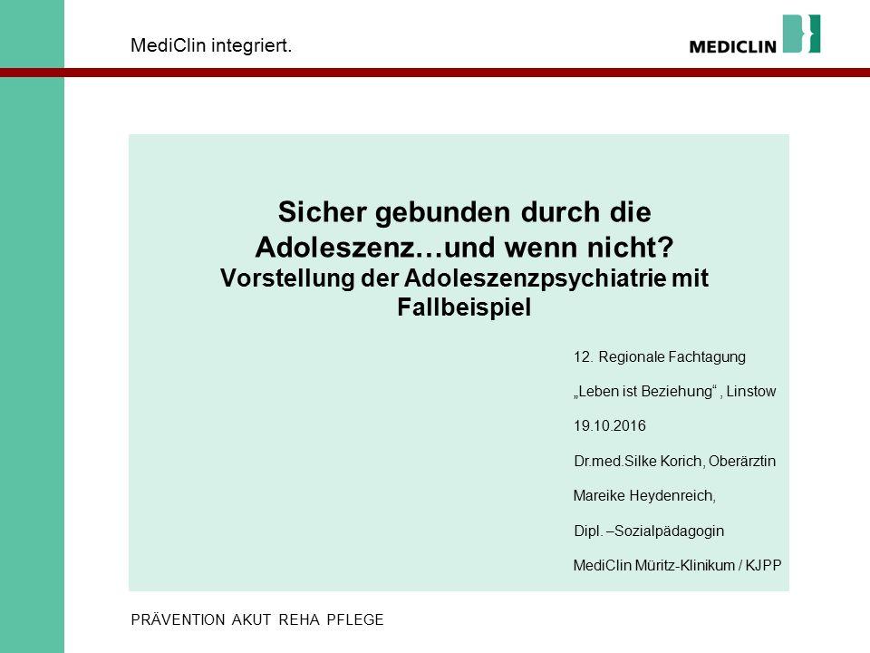 MediClin integriert.