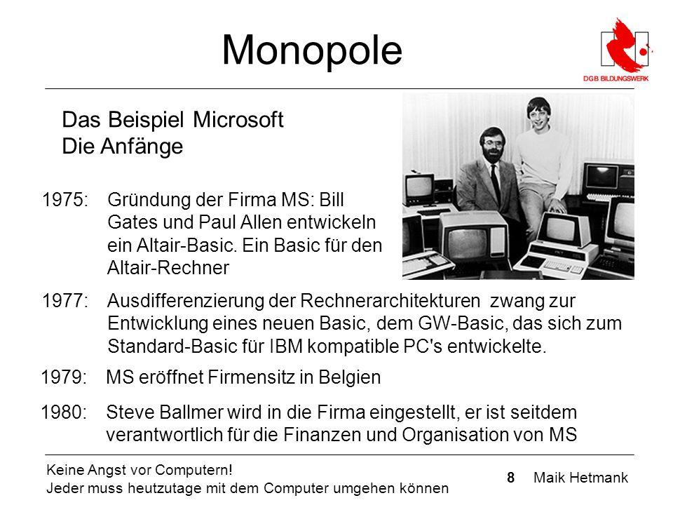 8 Maik Hetmank Keine Angst vor Computern.