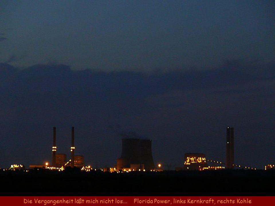Die Vergangenheit läßt mich nicht los... Florida Power, links Kernkraft, rechts Kohle