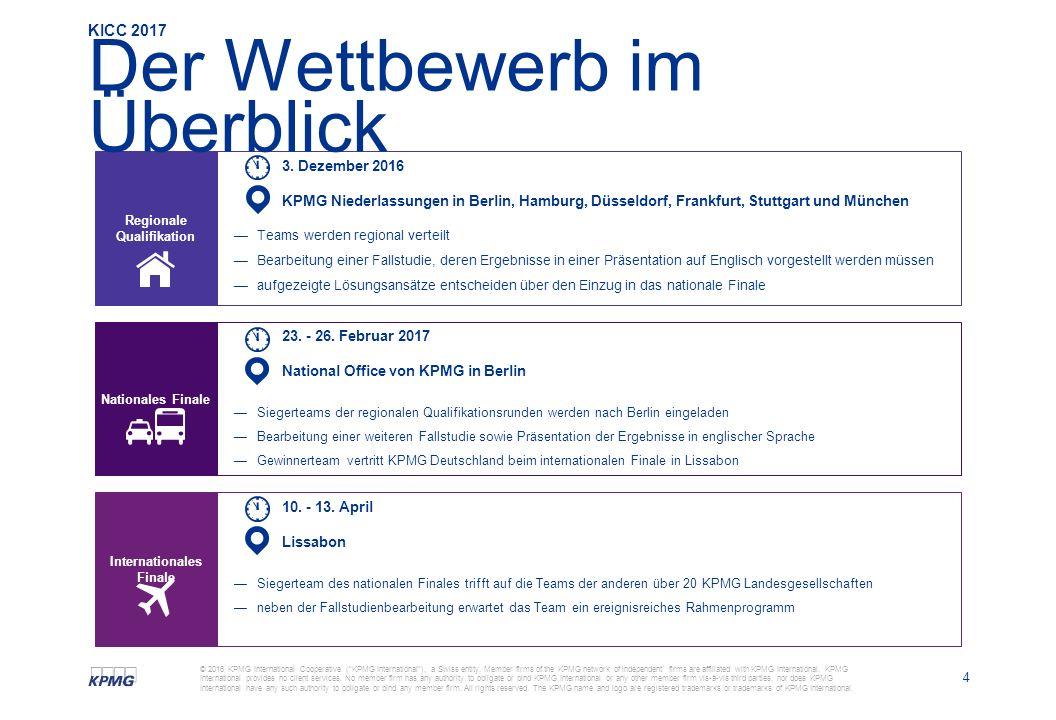 4 © 2016 KPMG International Cooperative ( KPMG International ), a Swiss entity.