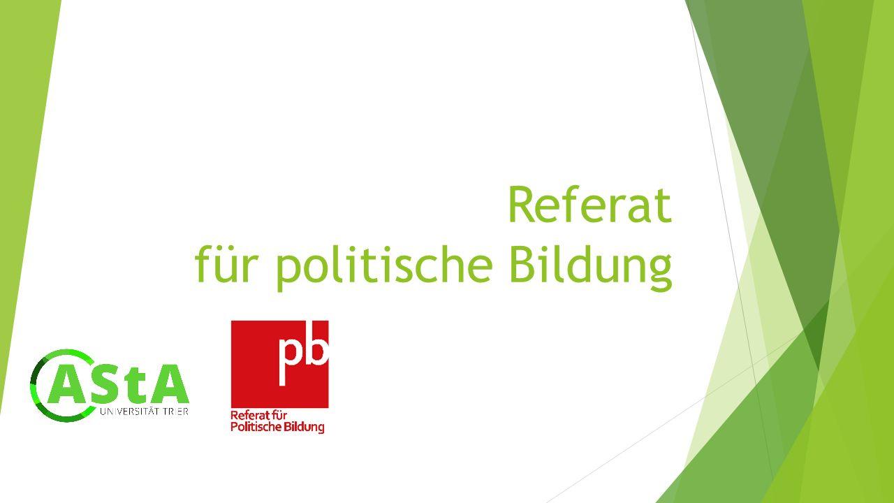 Referat für politische Bildung