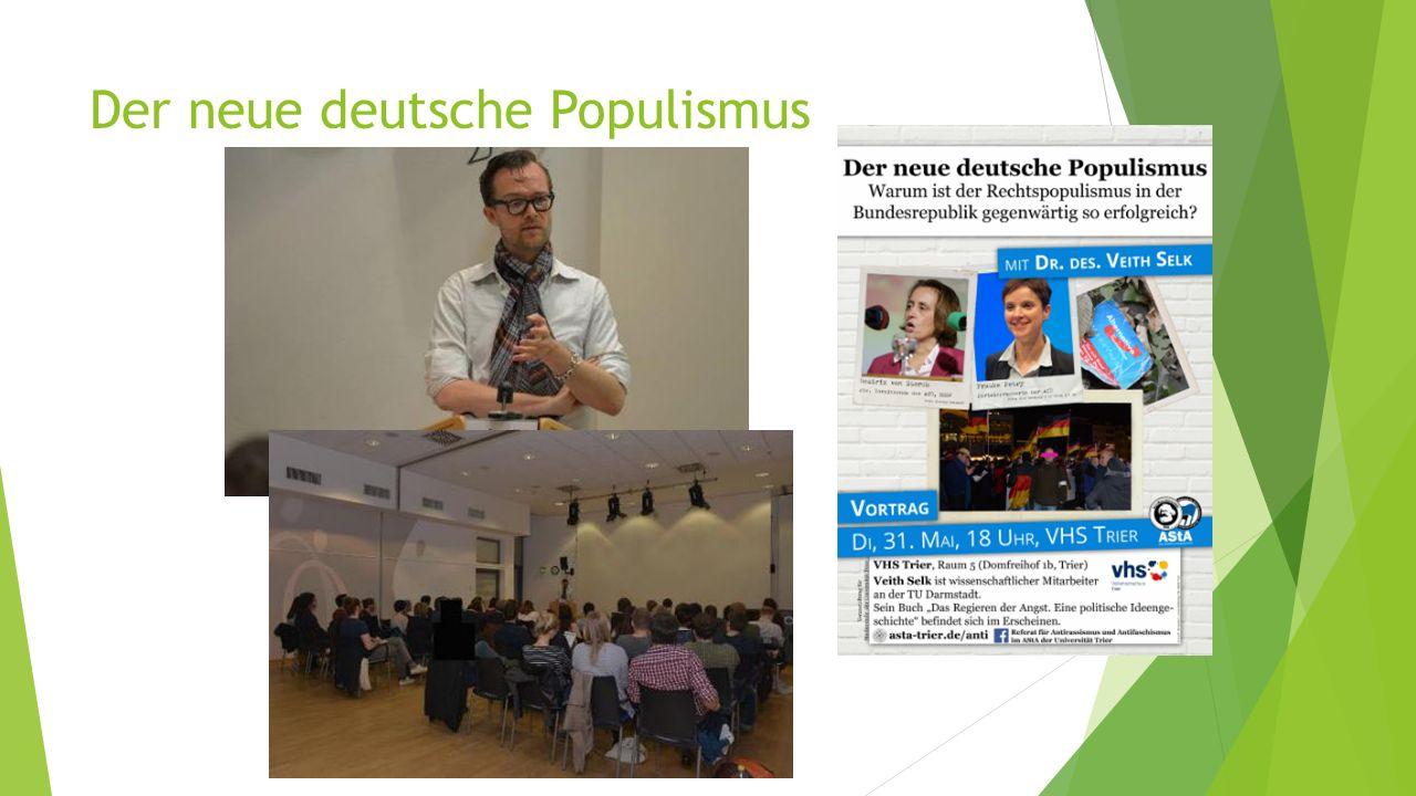 Der neue deutsche Populismus