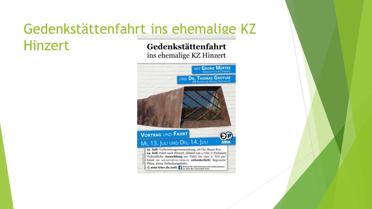Gedenkstättenfahrt ins ehemalige KZ Hinzert