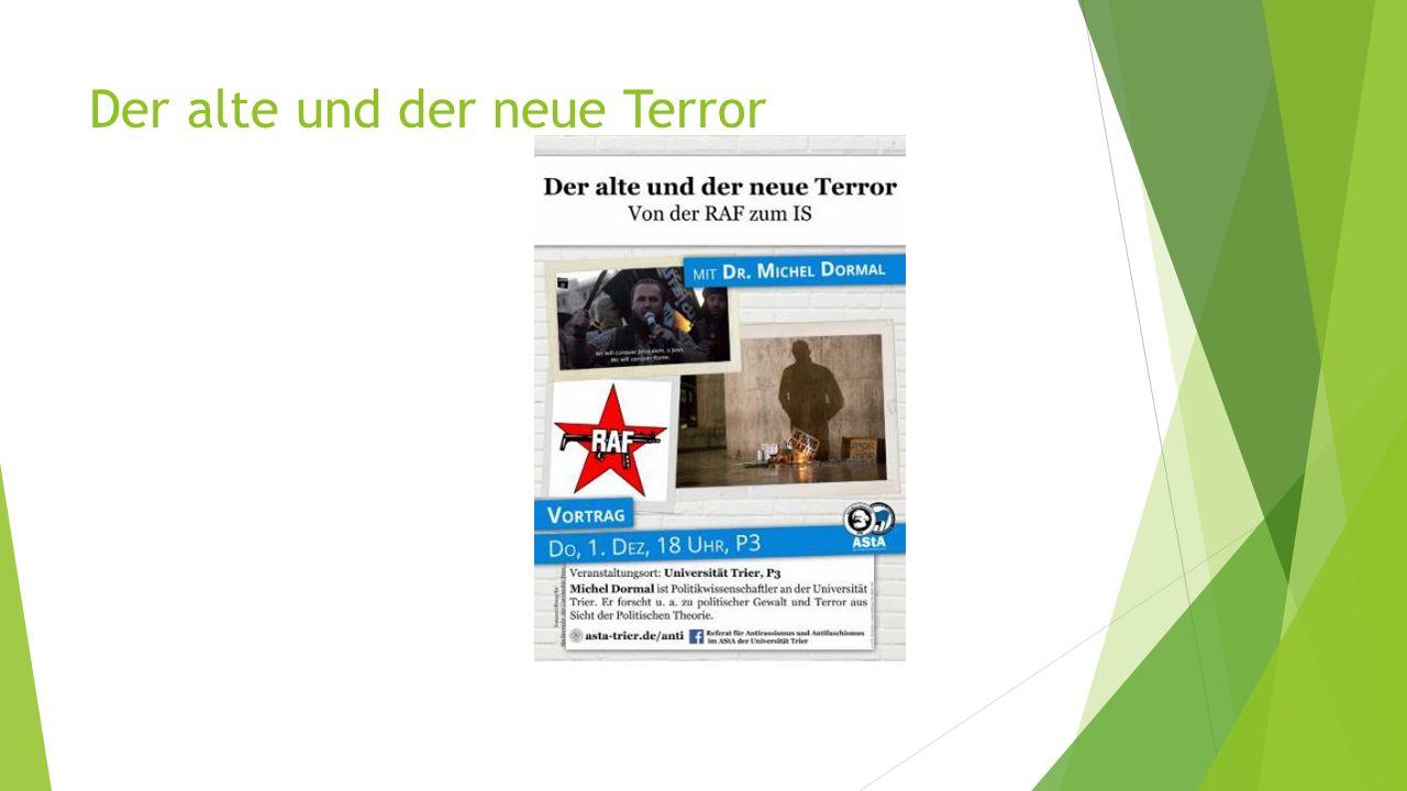 Der alte und der neue Terror