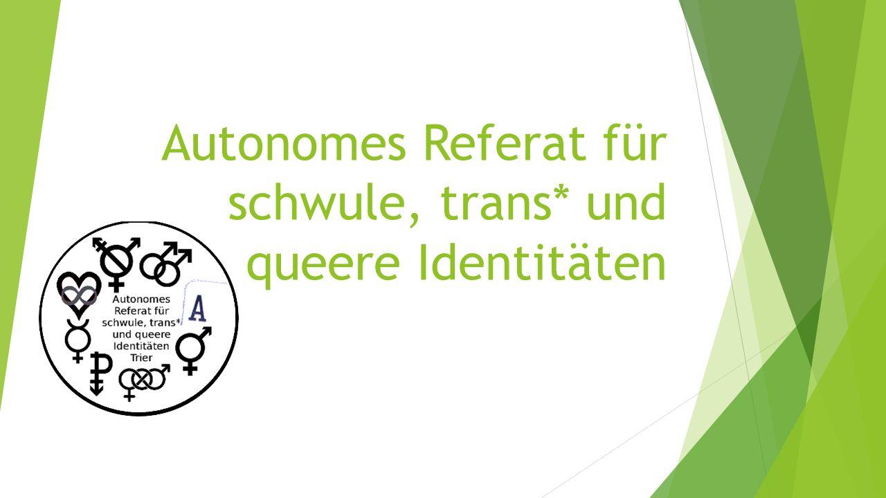 Autonomes Referat für schwule, trans* und queere Identitäten