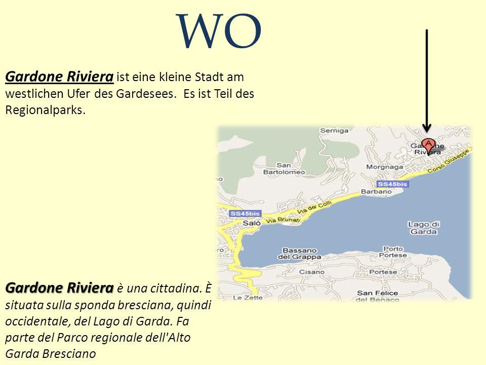 Gardone Riviera ist eine kleine Stadt am westlichen Ufer des Gardesees.