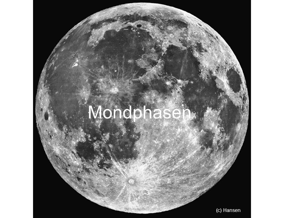 Mondphasen (c) Hansen