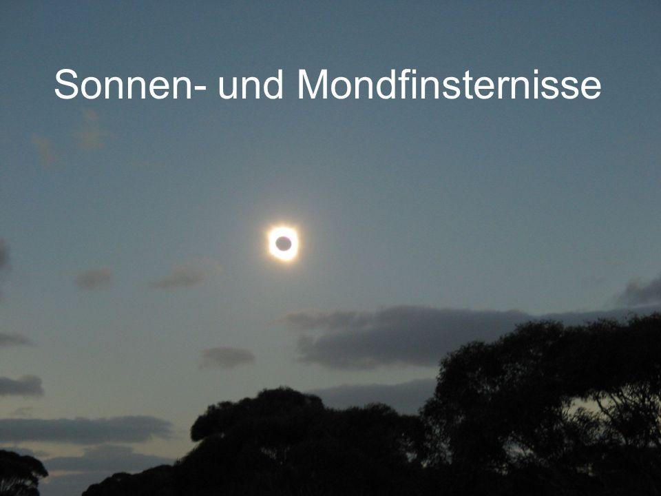 Sonnen- und Mondfinsternisse