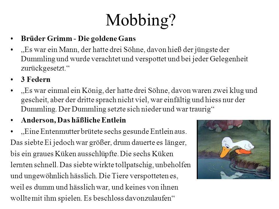 Mobbing.