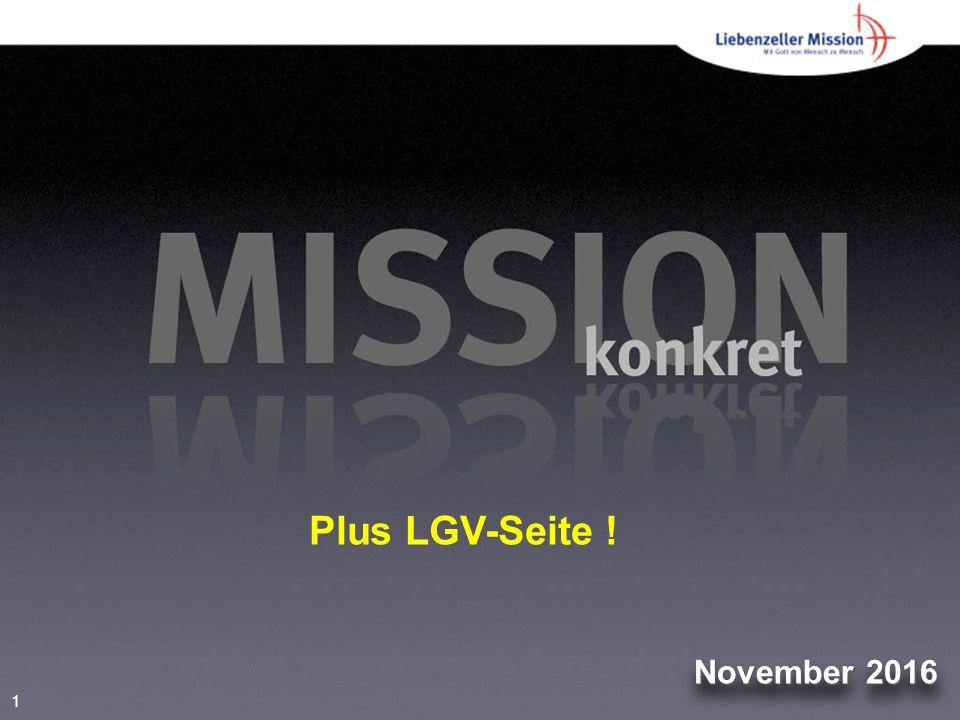 1 November 2016 Plus LGV-Seite !