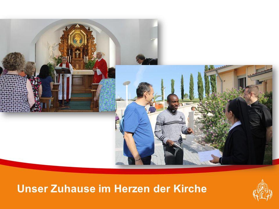 Textmasterformate durch Klicken bearbeiten 11 Unser Zuhause im Herzen der Kirche
