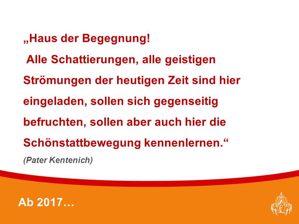 """Textmasterformate durch Klicken bearbeiten 30 Ab 2017… """"Haus der Begegnung."""