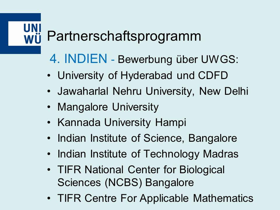 Partnerschaftsprogramm 4.