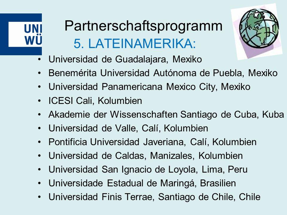 Partnerschaftsprogramm 5.