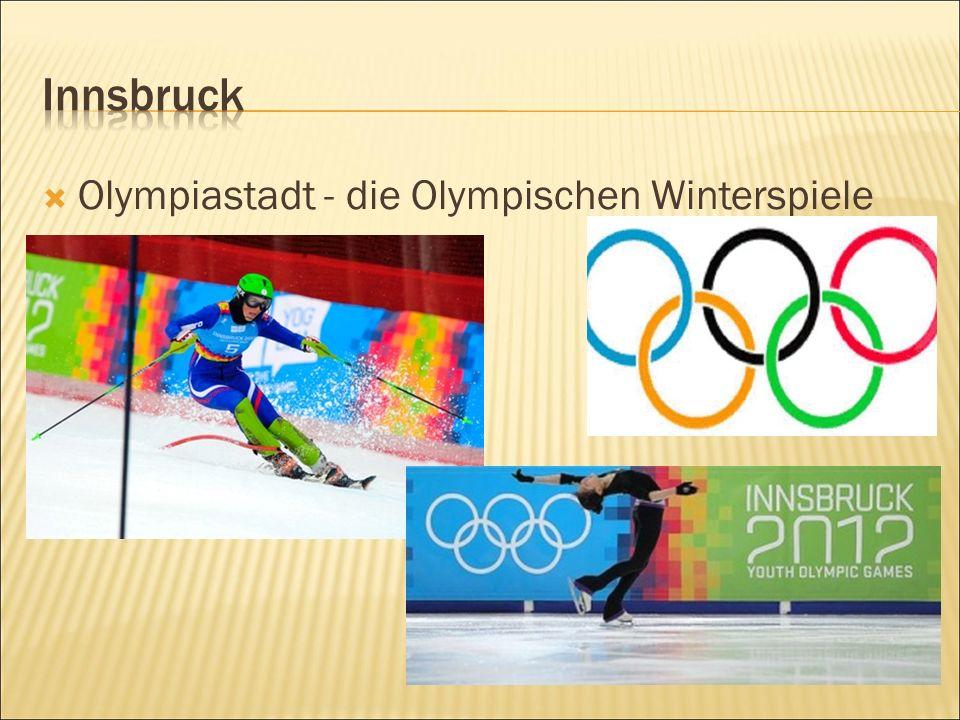  Olympiastadt - die Olympischen Winterspiele