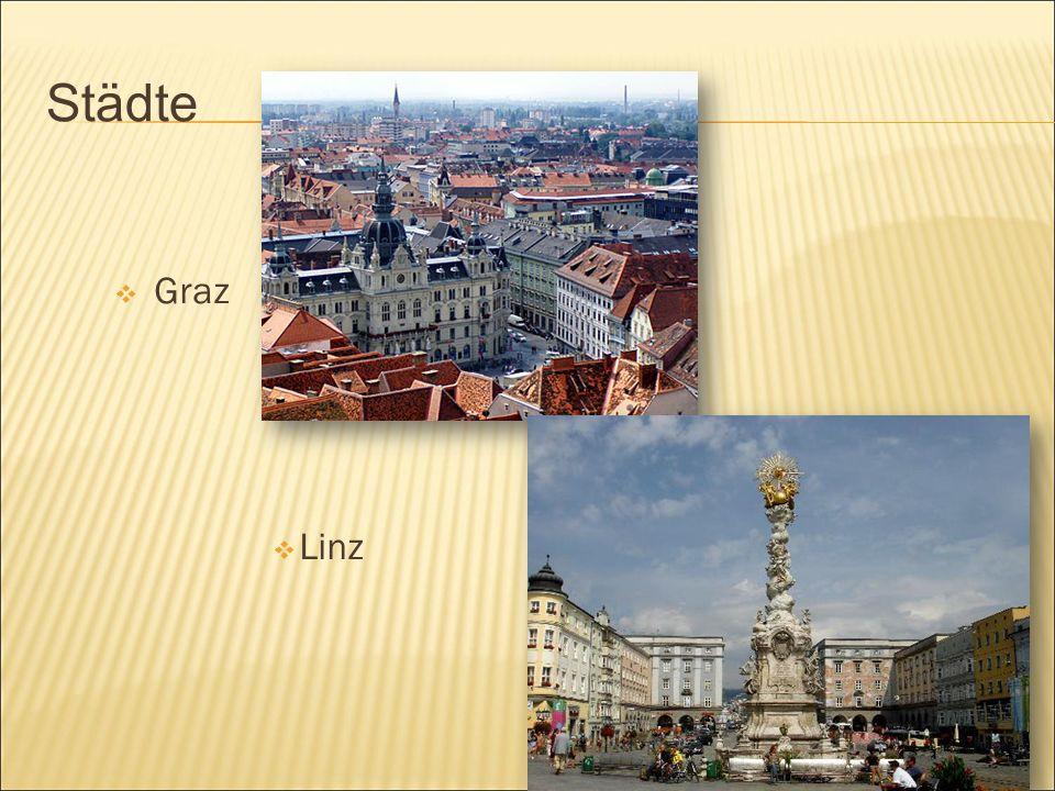 Städte  Graz  Linz