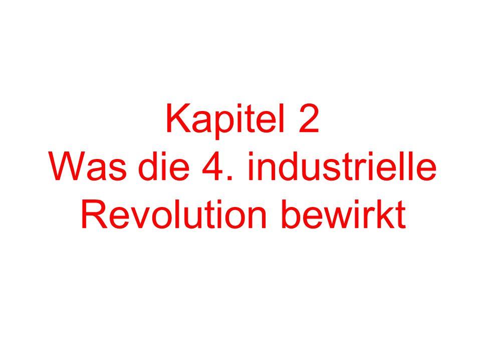 Kapitel 2 Was die 4. industrielle Revolution bewirkt