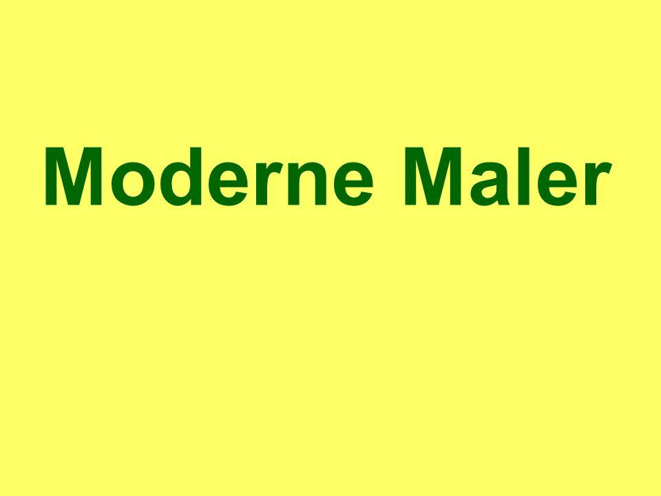 Moderne Maler