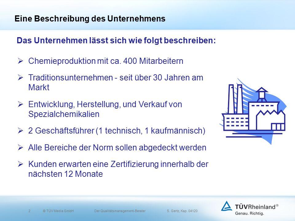 2© TÜV Media GmbH Der Qualitätsmanagement-Berater S.